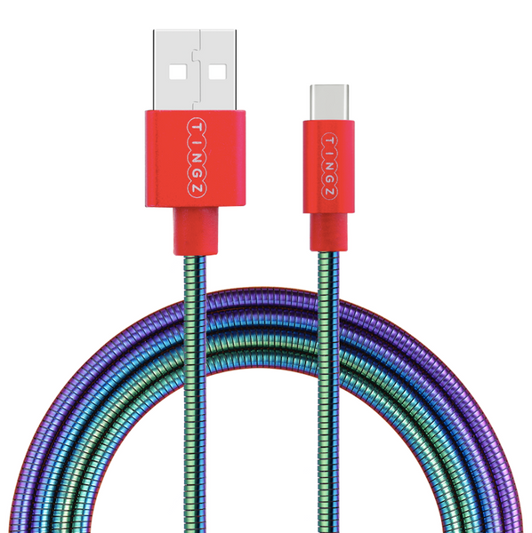 1.2m Premium USB-C to USB Braided Metallic Cable