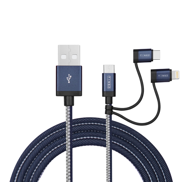 1M 3-in-1 Cable