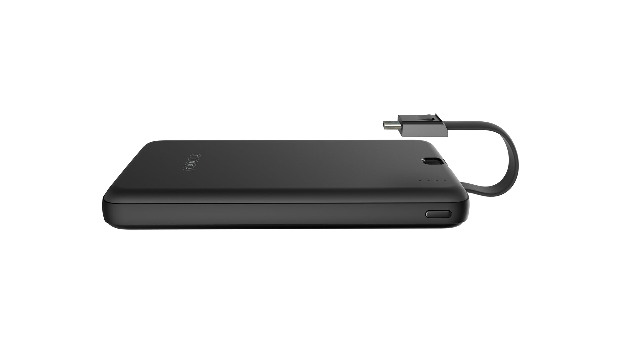 10000mAh Powerbank with Built-in Type-C Cable