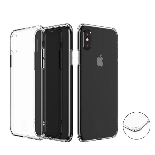 iPhone Xs Case + Temper Glass Bundle