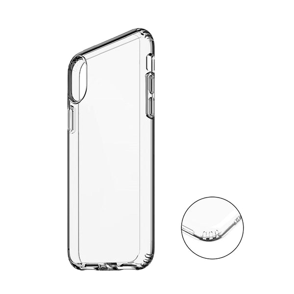 iPhone Xs Case + Tempered Glass Bundle