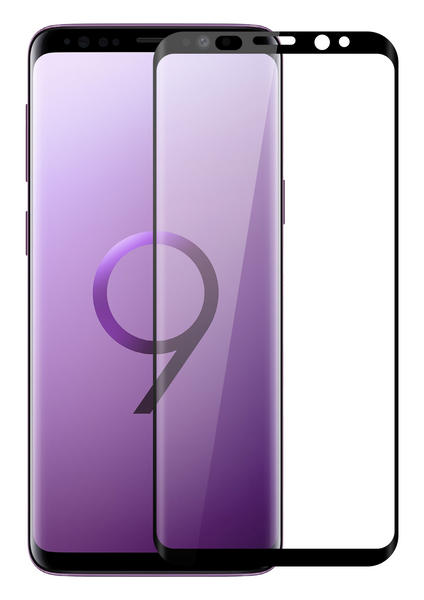 Samsung Galaxy S9 3D Curved Edge Tempered Glass