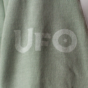 Mint Green V-Neck Hoodie
