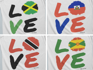 Caribbean LOVE Tank, H-Z, Haiti to US Virgin Islands (Alphabetical) - Alix & Lily