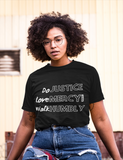 DO Justice, Love Mercy Tee (Unisex) - Lily & Yas