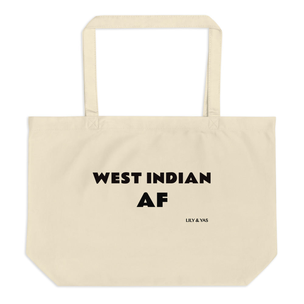 West Indian AF Organic Tote (Large) - Alix & Lily