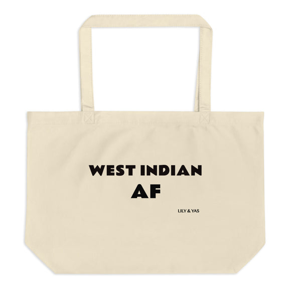 West Indian AF Organic Tote (Large) - Lily & Yas