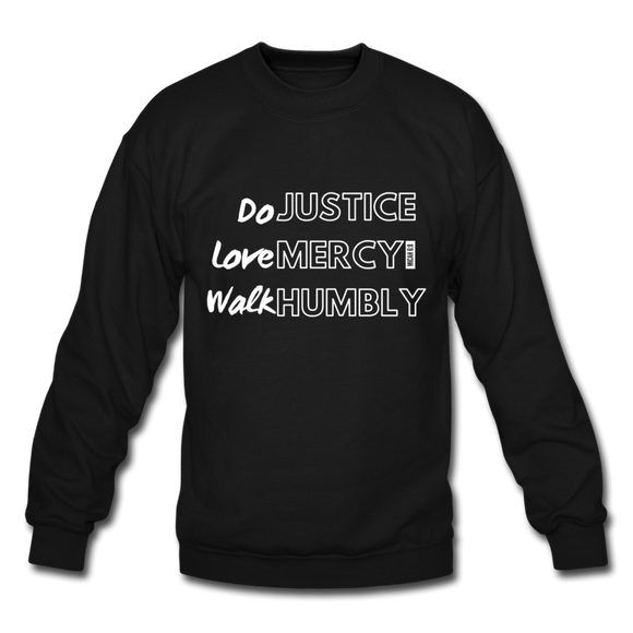 DO Justice, Love Mercy Sweatshirt (Unisex) - Lily & Yas