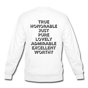 Meditate on These Things Sweatshirt (Unisex) - Lily & Yas
