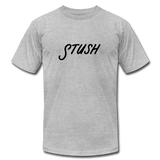 Stush Unisex Tee - heather gray