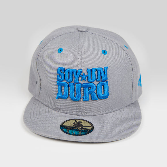 Grey And Blue Snapback
