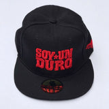 Black And Red Soy Un Duro Snapback