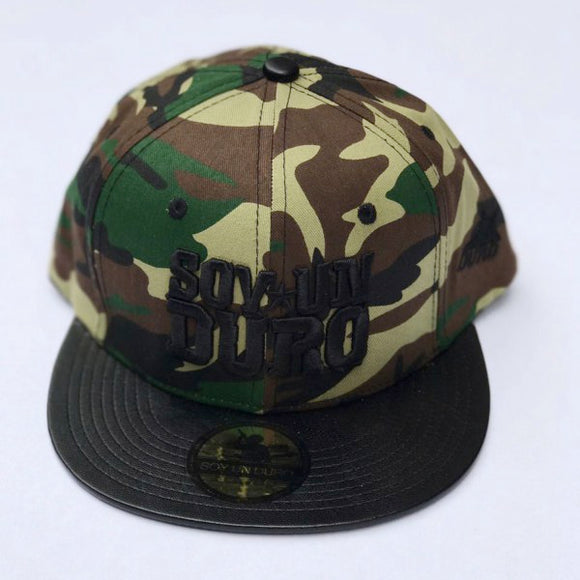 Military And Leather Special Edition Snapback