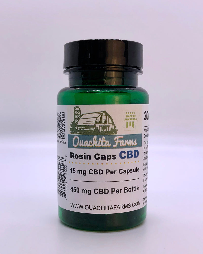 Rosin Caps - THC/CBD/CBN/CBG/T-Free - Ouachita Farms