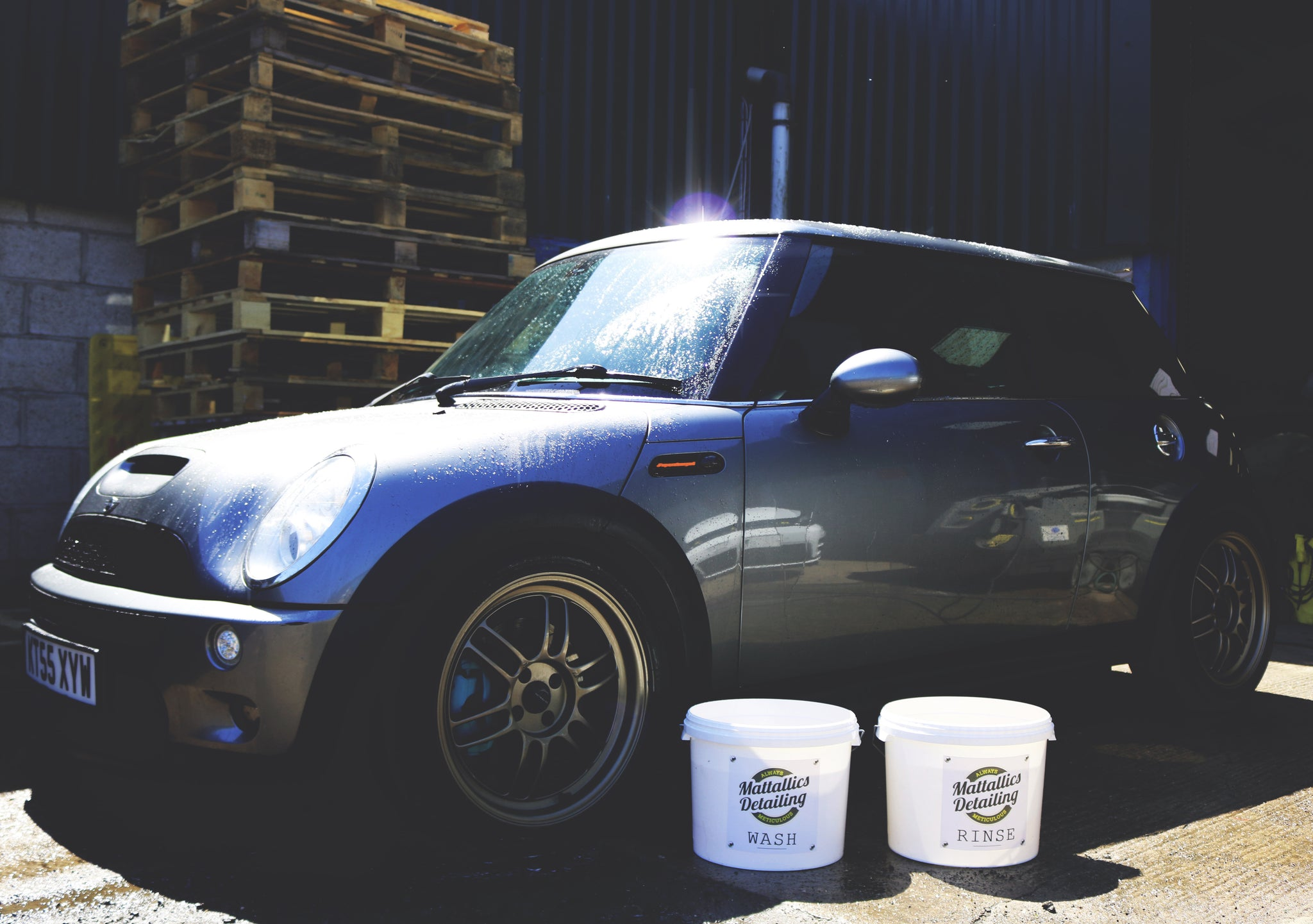 Mattallics Mini Two Bucket Wash