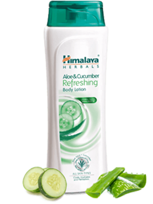 Aloe and Cucumber Refreshing Body Lotion