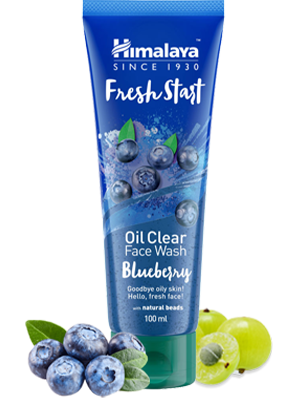 Fresh Start Oil Clear Blueberry Face Wash