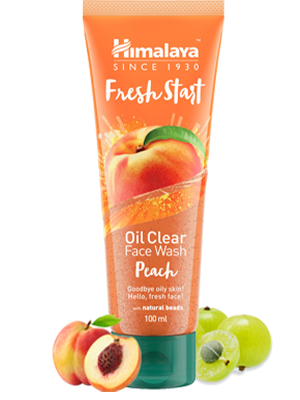 Fresh Start Oil Clear Peach Face Wash