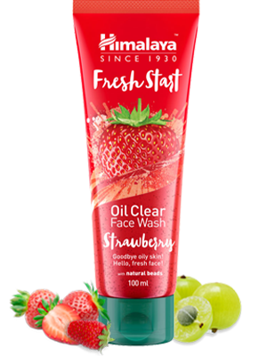 Fresh Start Oil Clear Strawberry Face Wash