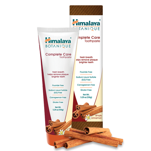 Simply Cinnamon Complete Care Toothpaste
