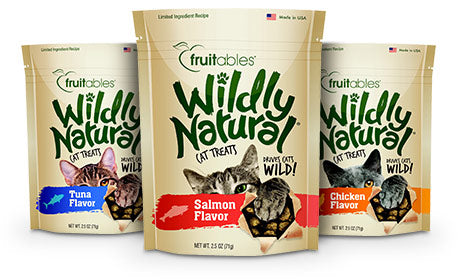 Wildly Natural Cat Treats