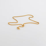 Sunkissed Legs Gwen anklet chain gold