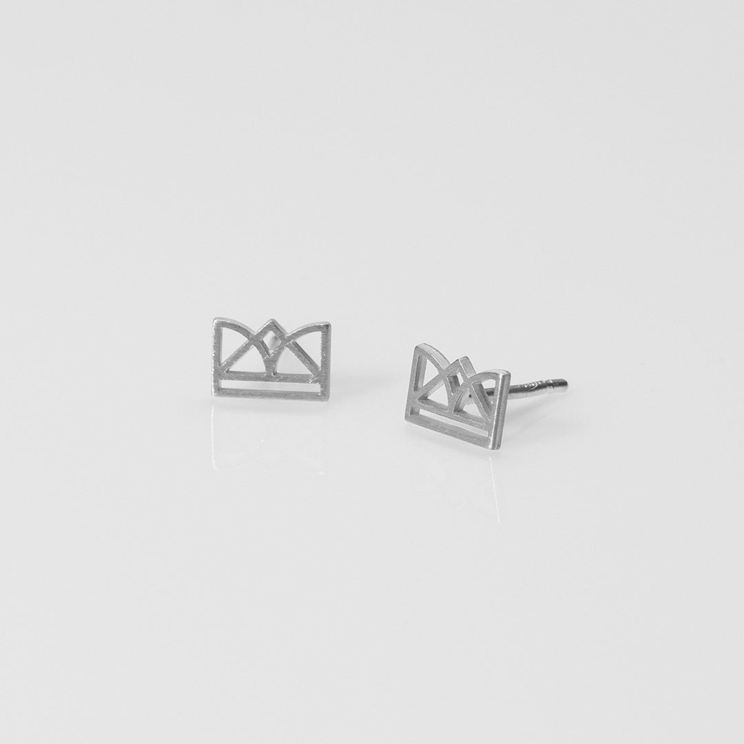 New Era earrings silver