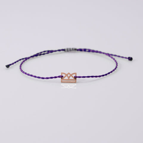 New Era bracelet rose