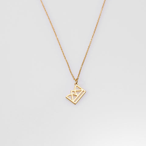 New Era necklace gold