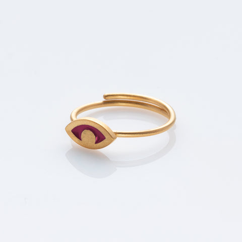 Ayelette ring gold