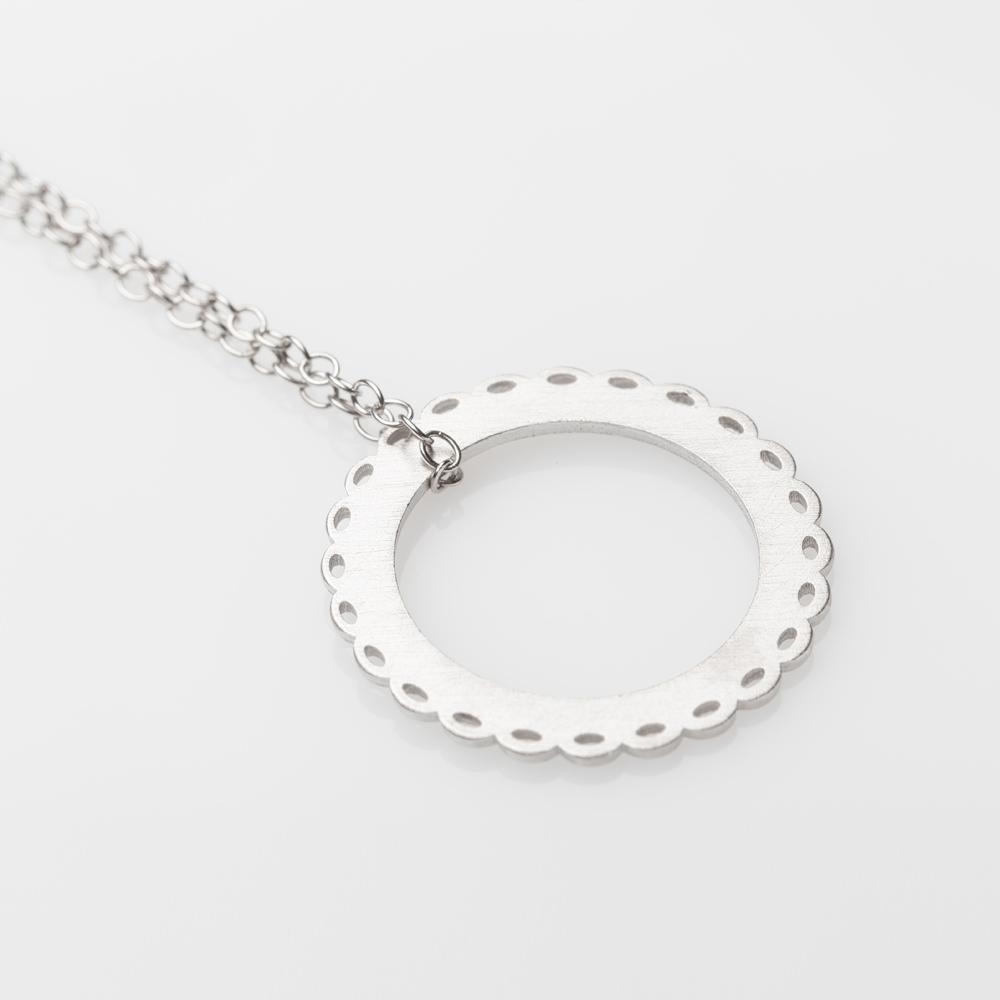 Mademoiselle necklace L silver