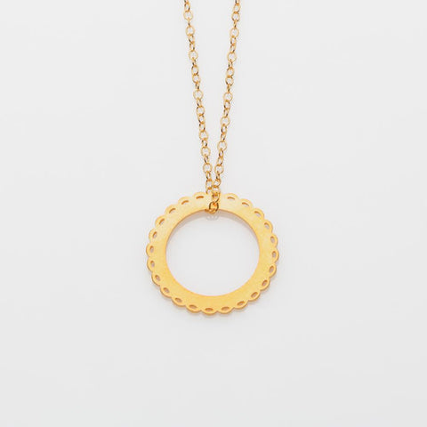 Mademoiselle necklace L gold
