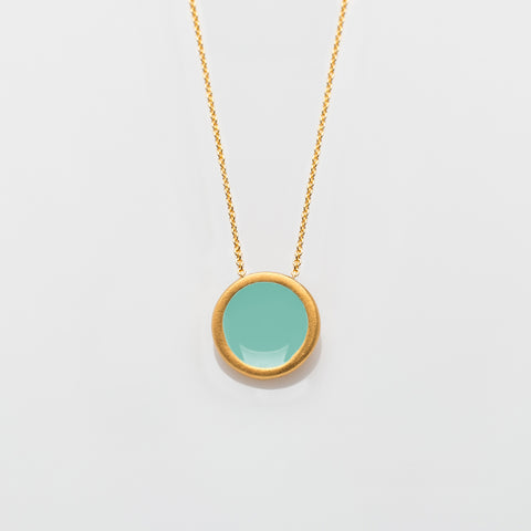 Palette S necklace gold