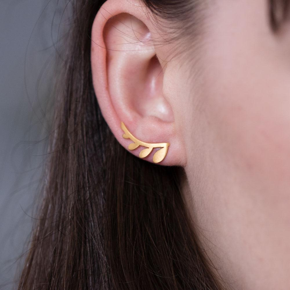 Chloe earrings L gold