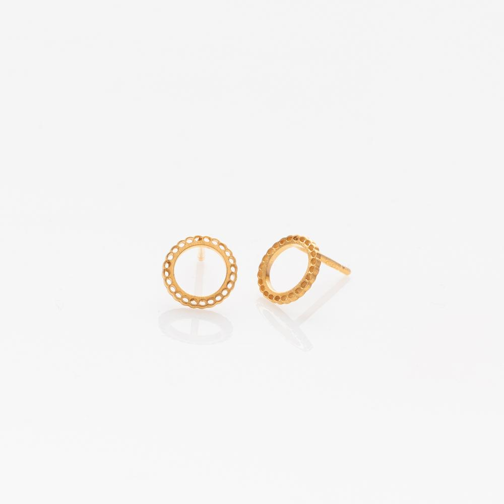 Mademoiselle earrings S gold