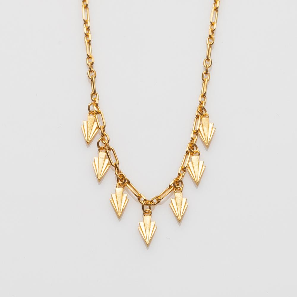 Crescendo necklace gold
