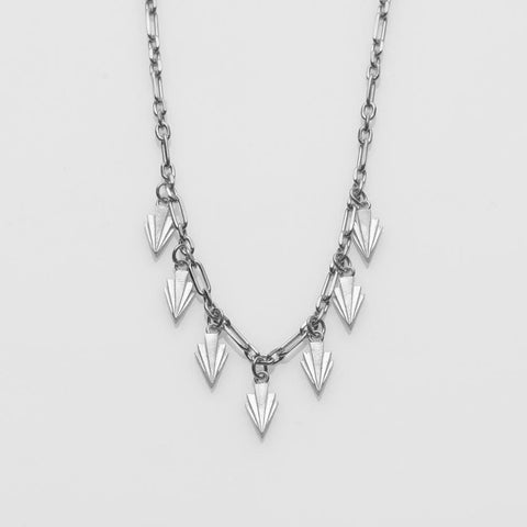 Crescendo necklace silver
