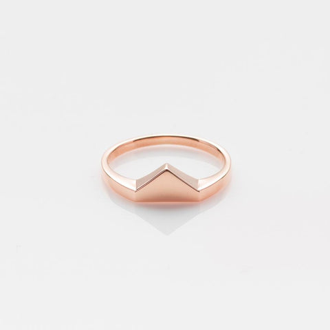 Ahh ring rose gold