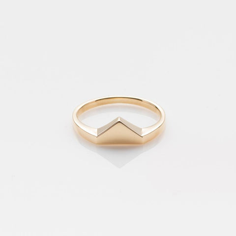 Ahh ring yellow gold