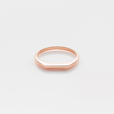 Pyr ring rose gold