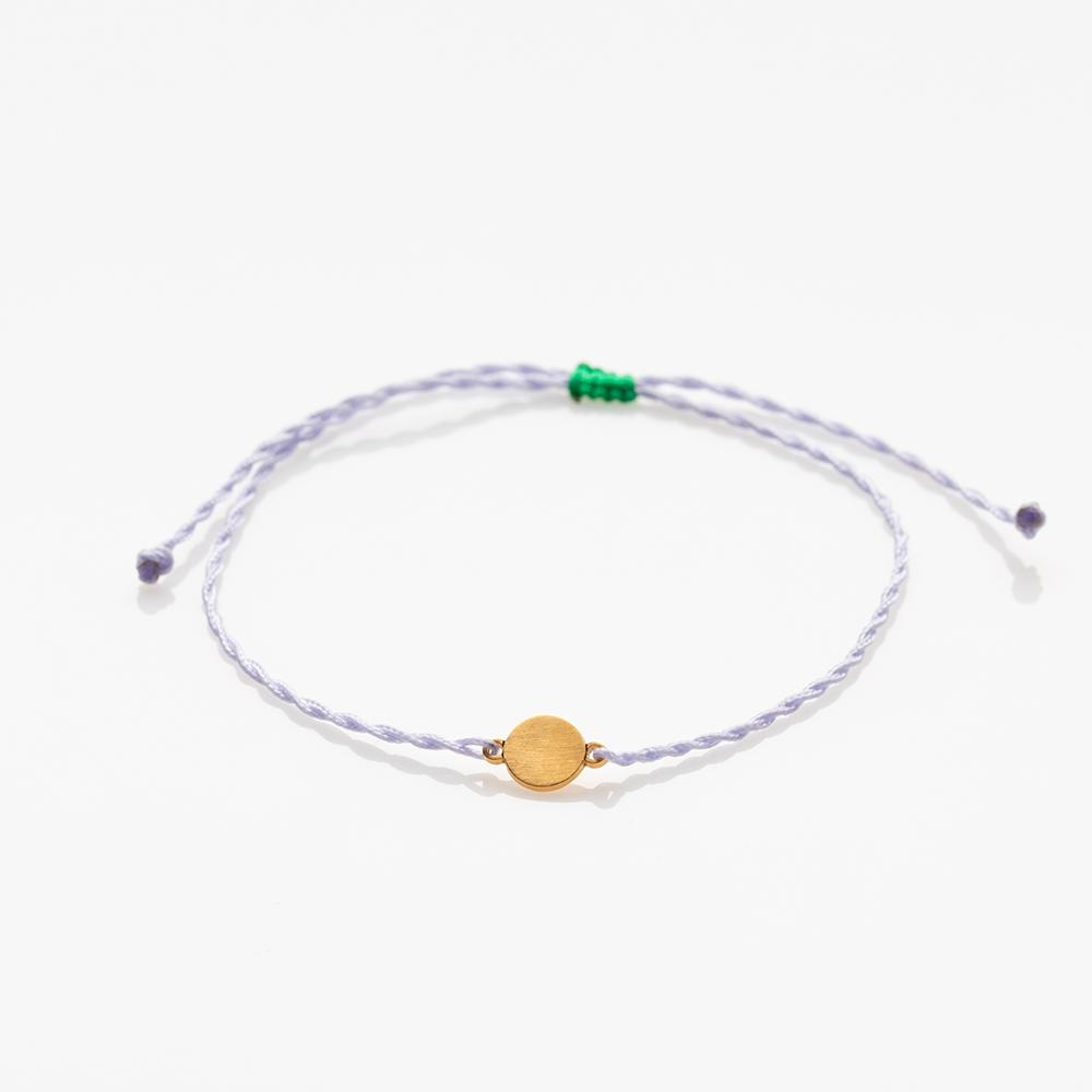 Toy full moon bracelet gold