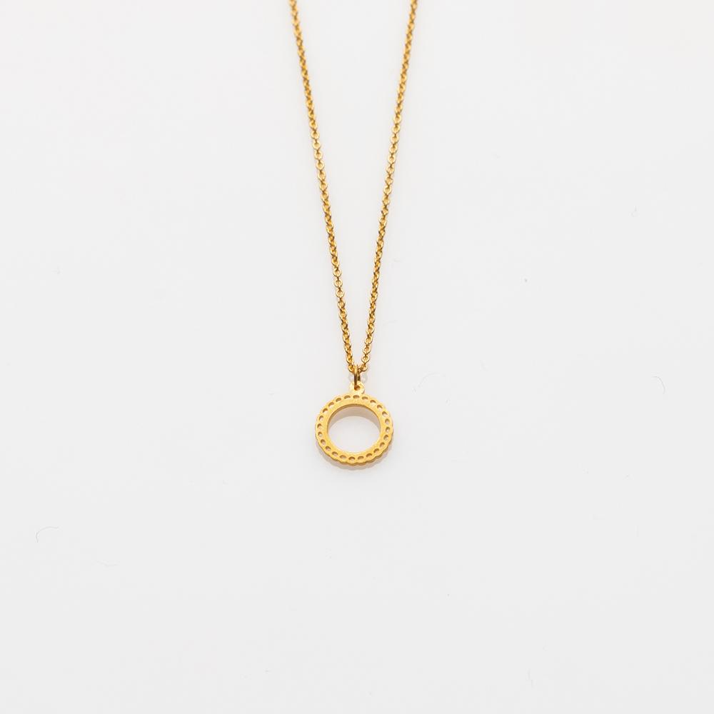 Mademoiselle necklace S gold