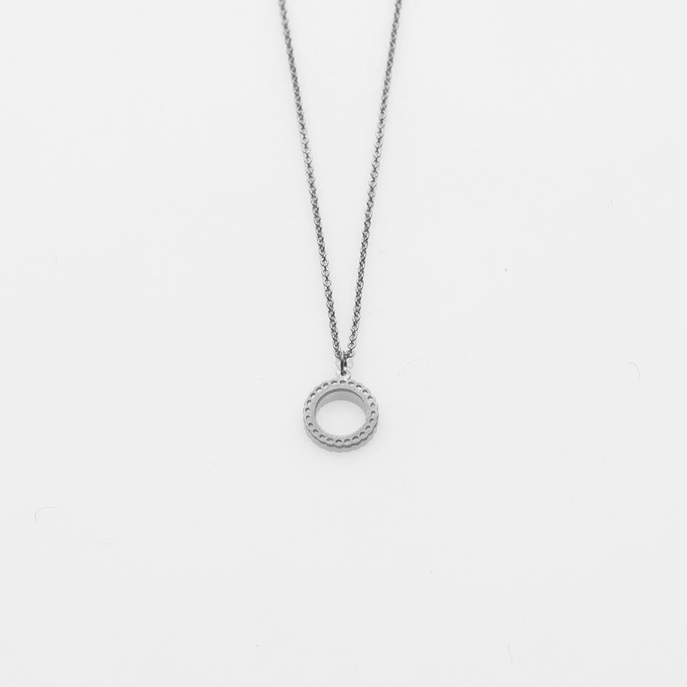 Mademoiselle necklace S silver