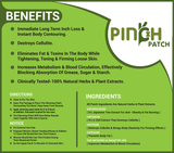 The Pinch Patch™ Weight Loss Patch