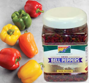 Why Dehydrated Bell Peppers Are Totally Worth A Spot in Your Healthy Eating Pantry