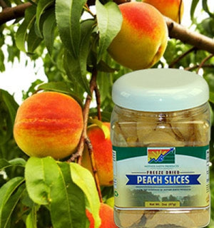 4 Reasons Why You should try our Freeze Dried Peach Slices