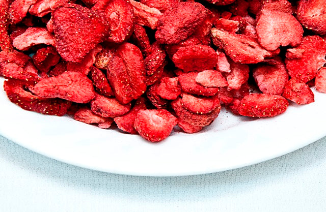 Organic Crunchy Strawberries
