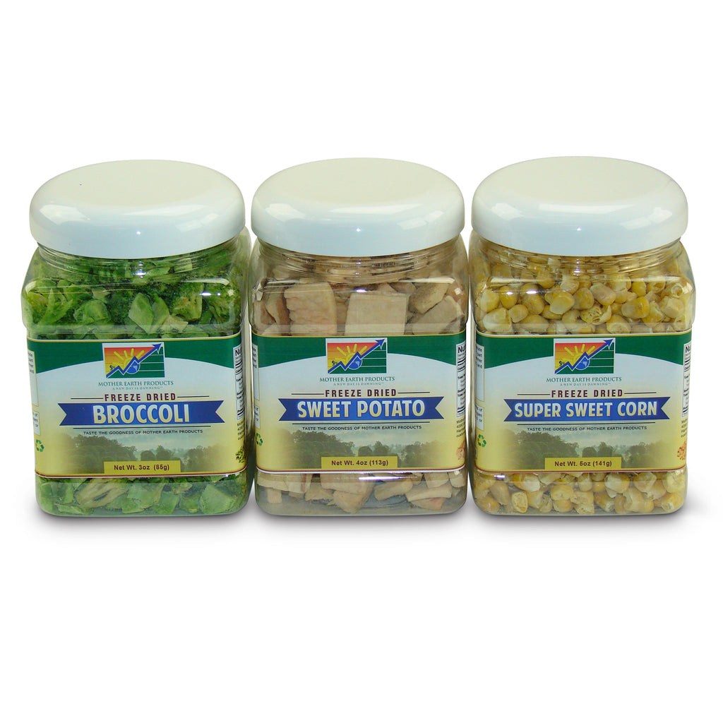 Freeze Dried Vegetable Medley