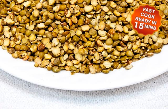 Dehydrated Green Split Peas Bowl