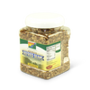 Dehydrated Refried Bean Mix Quart Jar Corner